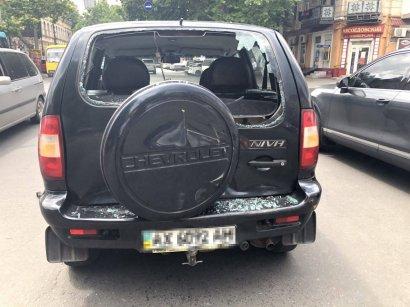 Очередное ДТП с участием маршрутки произошло сегодня на Молдованке
