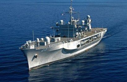 Современный американский эсминец вошел в Черное море