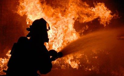 Серьезный пожар произошел под Одессой