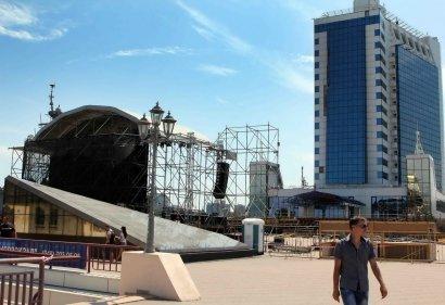 В Одессе открывается концертная площадка возле обновленного Морвокзала
