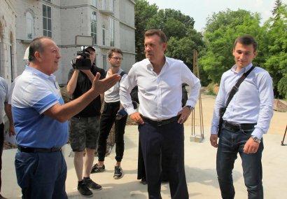 В Одессе продолжается возведение образовательно-спортивного комплекса с углублённым духовным воспитанием