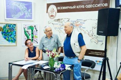Писатель Михаил Жванецкий посетил презентацию 104-го выпуска газеты «Всемирные Одесские Новости» в Одессе