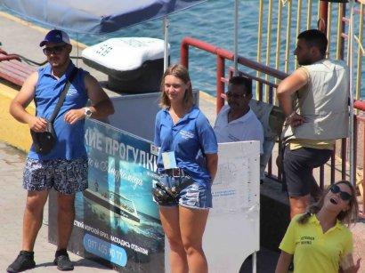 Сезон в разгаре: на морвокзале морские прогулки на скоростных катерах