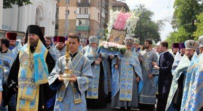 В Одессе прошел многотысячный Крестный ход в день празднования Касперовской иконы Божией Матери