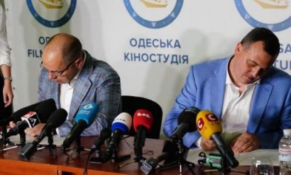 Руководство Одесской киностудии и губернатор Максим Степанов анонсировали создание на базе киностудии музея истории кино