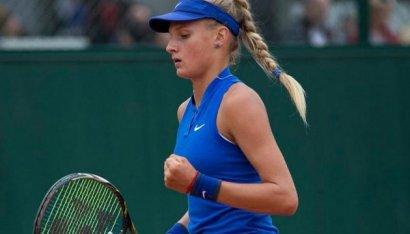 Юная одесская теннисистка впервые в своей карьере вошла в сотню лучших спортсменок в рейтинге WTA