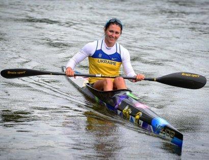 Анастасия Тодорова завоевала три медали на всеукраинском первенстве по гребле на байдарках