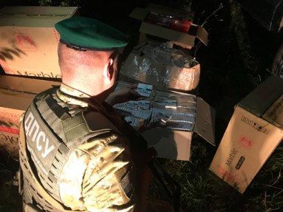 Подольские пограничники предотвратили перемещение более 6 тысяч пачек контрабандных сигарет