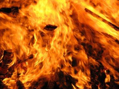 Серьезный пожар произошел ночью в Одессе