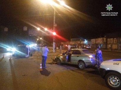 ДТП с пострадавшим произошло нынешней ночью в Одессе