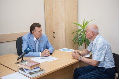 Одесситы на приеме у народного депутата Украины Сергея Кивалова