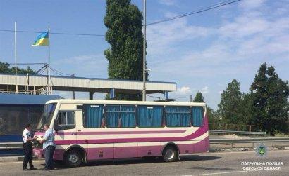 Проверки пассажироперевозчиков в Одесской области продолжаются