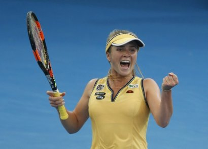 Лучшая украинская теннисистка Элина Свитолина вышла в четверть финала Открытого чемпионата Канады