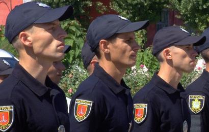 Одесская патрульная полиция пополнилась почти полусотней новобранцев