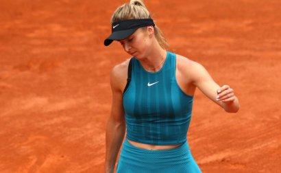 Одесская теннисистка Элина Свитолина не сумела защитить титул на крупном турнире в Канаде ВИДЕО
