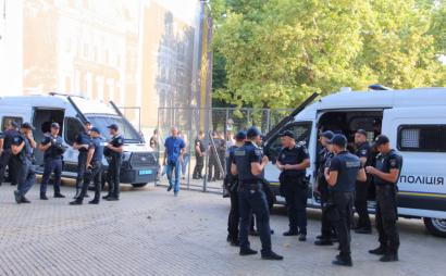 «Марш Равенства» в Одессе охраняли почти тысяча полицейских и нацгвардейцев