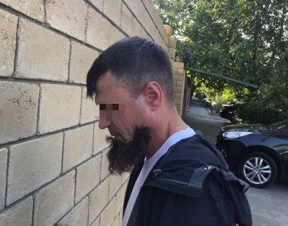 В Одессе задержали киллера с отклеившейся бородой