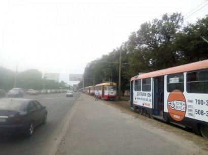 На улице Водопроводной с рельсов сошел трамвай. Всего на полчаса…