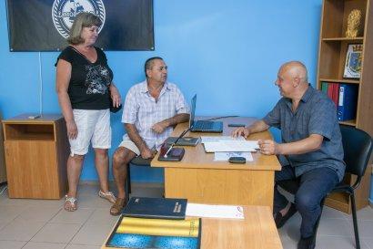 Украинская морская партия на благо жителей Лиманского района