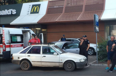 Конфликт со стрельбой произошел сегодня утром на Фонтане