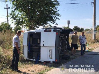 Серьезное ДТП с участием туристического автобуса произошло утром в Одесской области