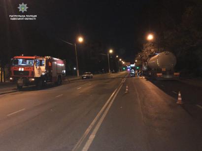 «Грузовое» ДТП произошло сегодня в Суворовском районе Одессы