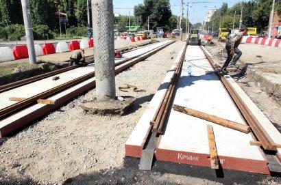 Продолжается ремонт развязки на 5-й станции Фонтана