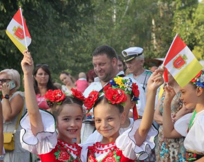 В одесском парке Победы прошли торжества в преддверии Дня города
