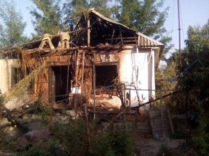 Пожар в Килийском районе: горел жилой дом