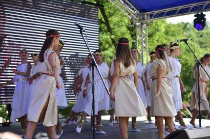 Первая очередь Греческого парка открылась для посетителей в День Рождения города