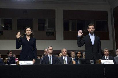 Акции Facebook и Twitter падают на фоне антитрамповской кампании в Сенате США