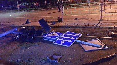 Восстановлен повреждённый в смертельном ДТП светофор на 6-й станции Фонтана