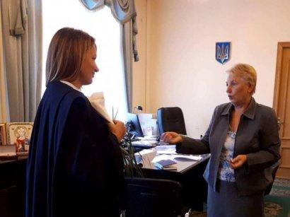 На предстоящем заседании Рады судей Украины обсудят дизайн новой мантии