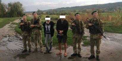 У границы с Молдовой пограничники задержали двух человек, которые могут быть причастны к грабежам
