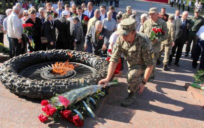 В Одессе отметили День партизанской славы
