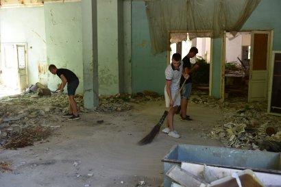 Продолжается благоустройство территории бывшей Межрейсовой базы моряков