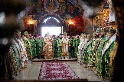В Одессе, в День памяти святого преподобного Кукши Одесского, собрались высшие чины Православия