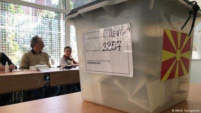 Жители Македонии проголосовали против на референдуме о вступлении в ЕС и НАТО