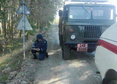 В Одесской области возле трассы нашли мину