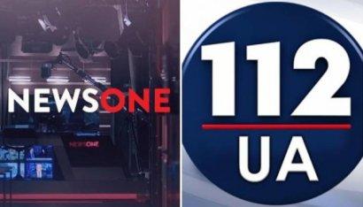 """Рада просит СНБО аннулировать лицензии """"112 Украина"""" и NewsOne"""