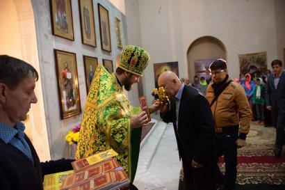 В Храме преподобного Сергия Радонежского Общеобразовательной церковно-приходской школы состоялся престольный праздник