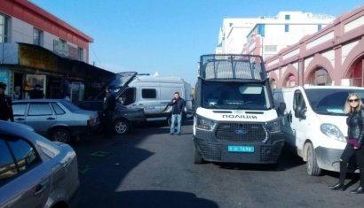 Сотрудники полиции продолжают проводить отработку одесских рынков