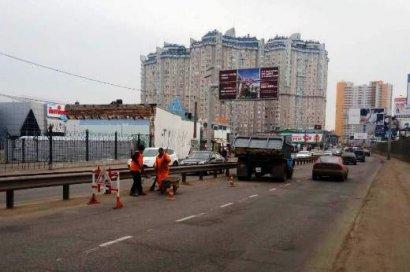 Из-за аварийных работ отключили воду на некоторых улицах и переулках жилмассива Таирова