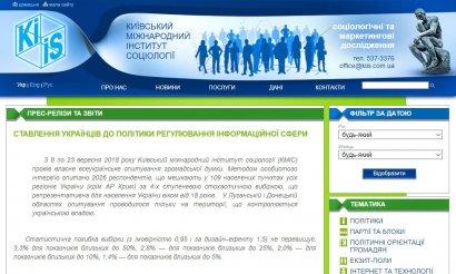 За последние полгода число украинцев, считающих ошибкой запрет российских фильмов, телеканалов и соцсетей, увеличилось ОПРОС