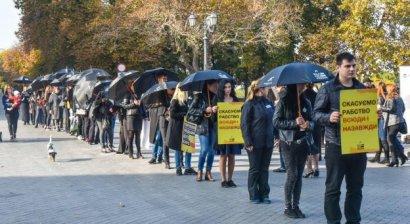 В Одессе состоялась акция «Шествие за свободу»