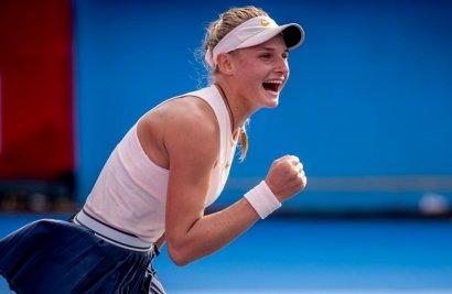 18-летняя одесситка Даяна Ястремская продолжает путь к теннисным вершинам