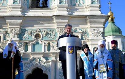 Церковный Майдан Варфоломея-отступника ВИДЕО