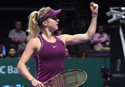 Одесская теннисистка Элина Свитолина впервые вышла в финал Итогового турнира WTA