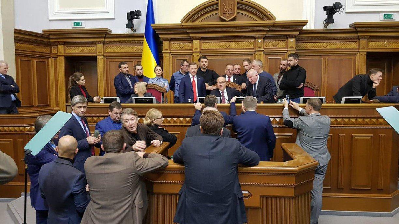 Верховная Рада отдала голос завведение военного положения