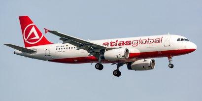 Первый рейс Стамбул — Одесса совершила сегодня украинская авиакомпания «Атласджет Украина»